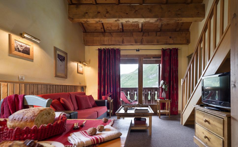 Location au ski Residences Village Montana - Tignes - Coin séjour