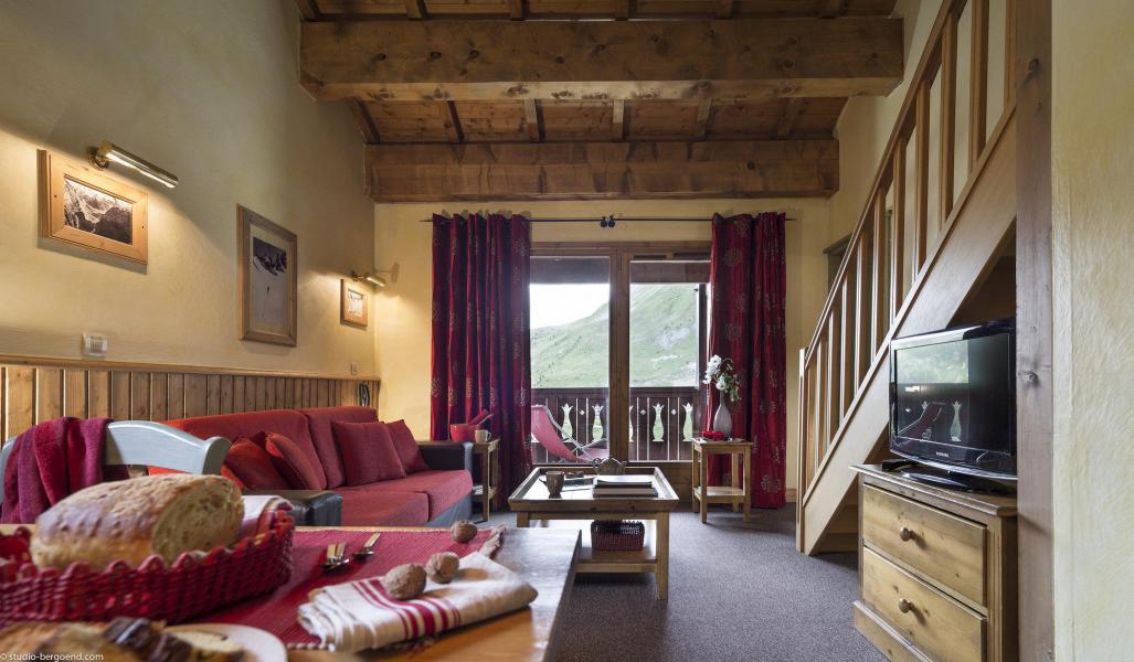 Аренда на лыжном курорте Résidences Village Montana - Tignes - Салон