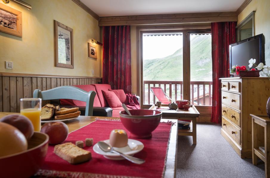 Location au ski Residences Village Montana - Tignes - Table