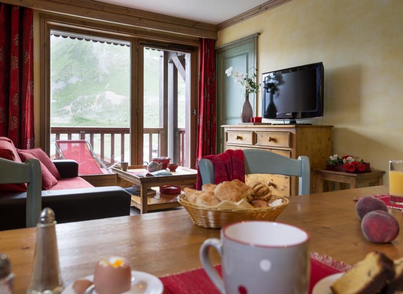Location au ski Residences Village Montana - Tignes - Tv