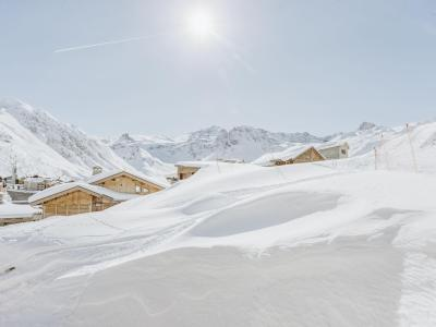 Rent in ski resort 2 room apartment 6 people (1) - Altitude 2100 - Tignes - Winter outside