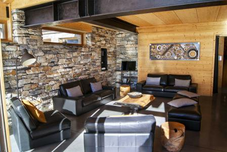 Rent in ski resort Chalet Alpinium 1 - Tignes - Living area