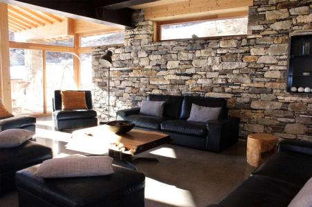 Rent in ski resort Chalet Alpinium 1 - Tignes - Living room