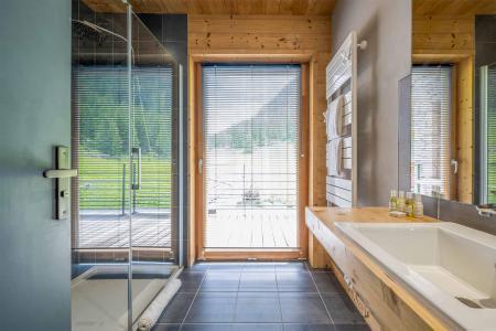 Location au ski Chalet Alpinium 2 - Tignes - Douche