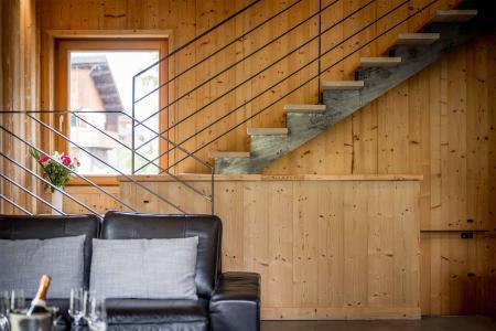 Location au ski Chalet Alpinium 2 - Tignes - Escalier
