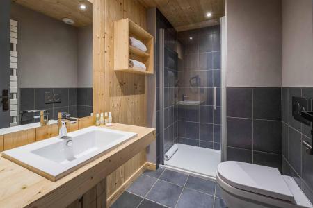 Location au ski Chalet Alpinium 2 - Tignes - Salle d'eau