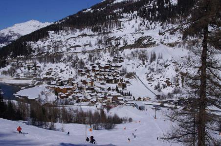 Rent in ski resort Chalet Aspen - Tignes - Winter outside