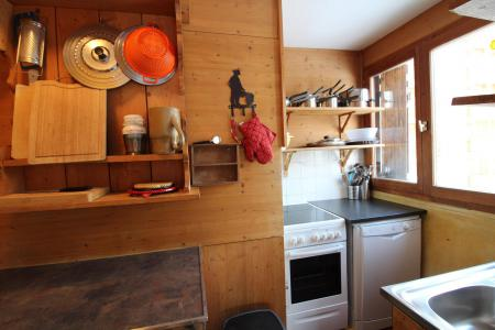Rent in ski resort 3 room apartment 6 people (3CH) - Chalet Bobech - Tignes - Kitchenette