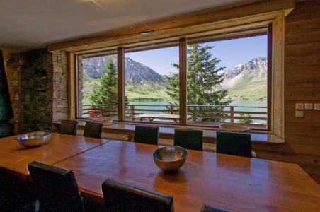 Rent in ski resort Chalet Chardonnet - Tignes - Dining area