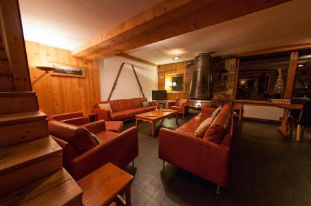 Rent in ski resort Chalet Chardonnet - Tignes - Living room