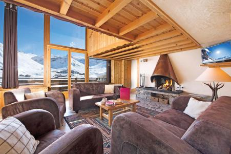 Rent in ski resort Chalet Iceberg - Tignes - Living room