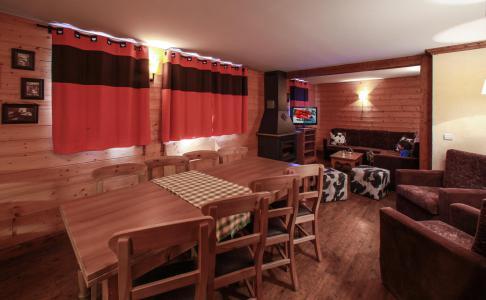 Rent in ski resort 6 room apartment 10 people - Chalet le Planton - Tignes - Living room