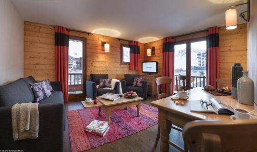 Location au ski Appartement 4 pièces 6 personnes - Chalet le Planton - Tignes - Séjour
