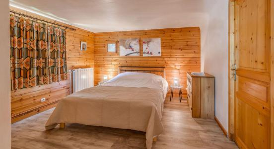 Rent in ski resort 4 room chalet 10 people (CH) - Chalet les Racines - Tignes - Bedroom
