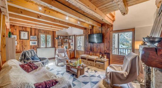 Rent in ski resort 4 room chalet 10 people (CH) - Chalet les Racines - Tignes - Settee