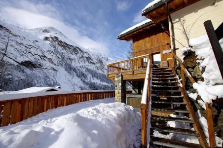 Rent in ski resort Chalet Zanskar - Tignes - Winter outside