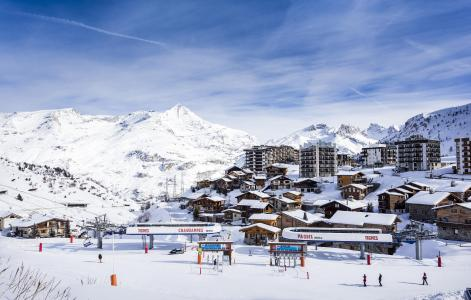 Holiday in mountain resort Hôtel Club MMV les Brévières - Tignes - Winter outside