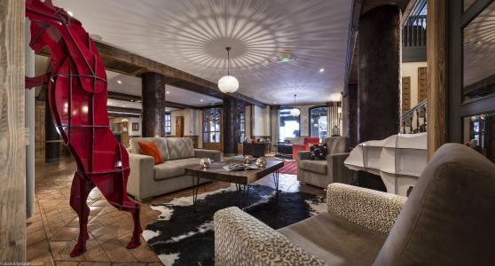 Rent in ski resort Hôtel Village Montana - Tignes - Reception