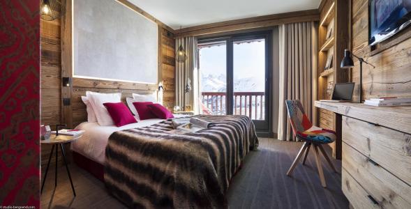 Rent in ski resort Hôtel Village Montana - Tignes - Bedroom