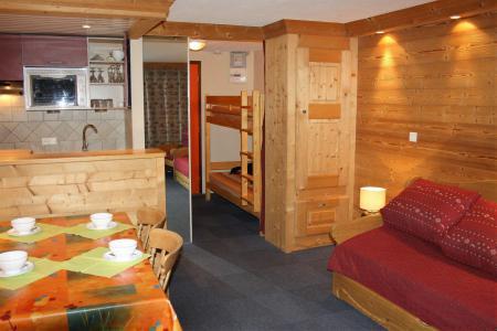 Rent in ski resort Studio sleeping corner 4 people (405CL) - La résidence le Palafour - Tignes