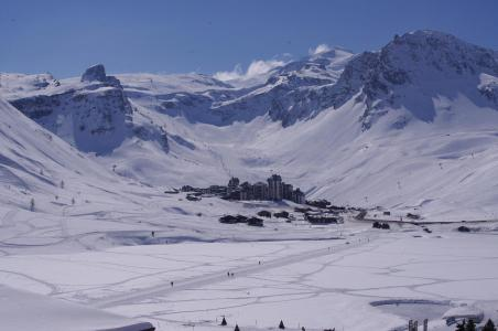 Rent in ski resort Studio cabin 4 people (604CL) - La résidence le Palafour - Tignes - Winter outside