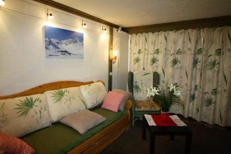 Rent in ski resort Studio sleeping corner 4 people (204CL) - La résidence le Palafour - Tignes