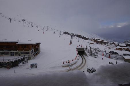 Rent in ski resort Studio 2 people (515CL) - La résidence le Palafour - Tignes - Winter outside