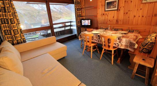 Rent in ski resort Studio sleeping corner 4 people (306CL) - La résidence le Palafour - Tignes