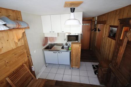 Rent in ski resort Studio 2 people (1109CL n'est plus commercialisé) - La résidence le Palafour - Tignes - Kitchenette