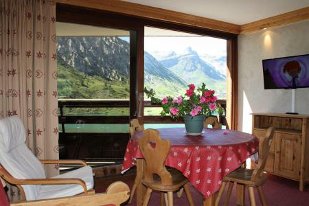 Rent in ski resort Studio sleeping corner 4 people (1003CL) - La résidence le Palafour - Tignes - Bunk beds