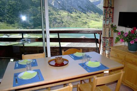 Rent in ski resort Studio sleeping corner 4 people (1005CL) - La résidence le Palafour - Tignes - Balcony