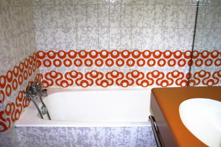 Rent in ski resort Studio sleeping corner 4 people (1005CL) - La résidence le Palafour - Tignes - Bath-tub