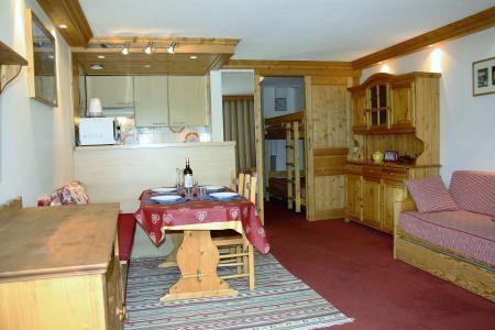 Rent in ski resort Studio sleeping corner 4 people (807CL) - La résidence le Palafour - Tignes - Living room