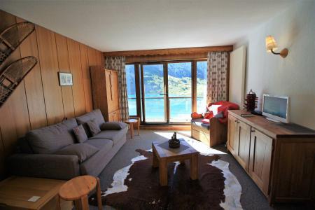 Rent in ski resort Studio 4 people (23CL) - La résidence les Cimes - Tignes - Living room