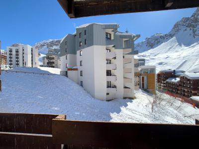Location au ski Appartement 2 pièces 6 personnes (28) - La Résidence Pramecou - Tignes - Extérieur hiver