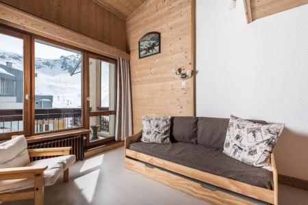 Location au ski Appartement duplex 2 pièces 5 personnes (C-CENTAUREE) - La Résidence Pramecou - Tignes - Séjour