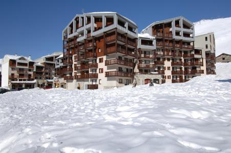 Location au ski Le Hameau Du Borsat - Tignes - Extérieur hiver