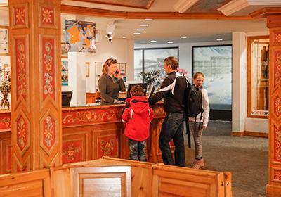 Location au ski Les Residences Du Val Claret - Tignes - Réception