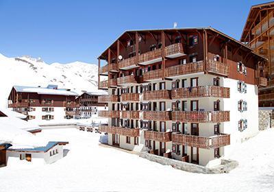 Location Tignes : Les Residences Du Val Claret hiver