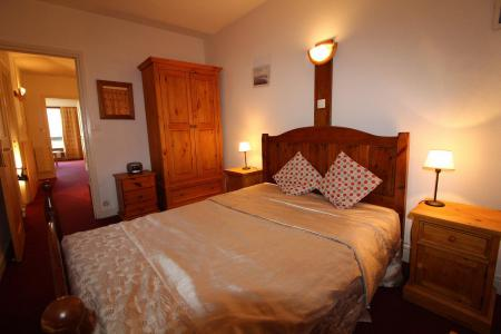 Rent in ski resort 2 room apartment sleeping corner 6 people (521CL) - Résidence Bec Rouge - Tignes - Double bed
