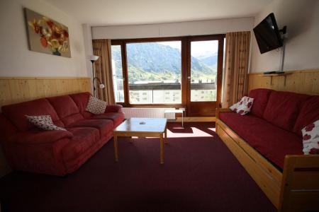 Rent in ski resort 2 room apartment sleeping corner 6 people (521CL) - Résidence Bec Rouge - Tignes - Living room