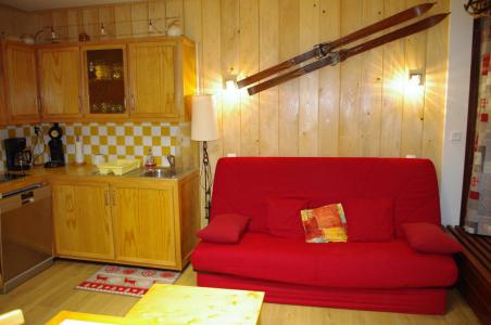 Rent in ski resort Studio sleeping corner 4 people (704CL) - Résidence Bec Rouge - Tignes