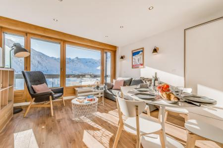 Rent in ski resort Studio sleeping corner 4 people (872CL) - Résidence Bec Rouge - Tignes