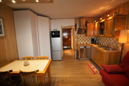 Rent in ski resort Studio sleeping corner 4 people (704CL) - Résidence Bec Rouge - Tignes - Living room