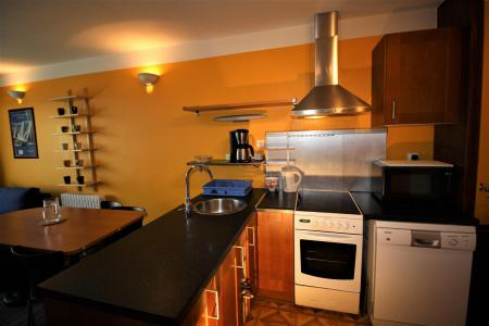 Rent in ski resort Studio sleeping corner 4 people (922CL) - Résidence Bec Rouge - Tignes - Kitchenette