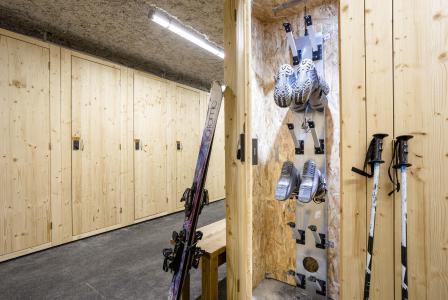 Location au ski Résidence Club MMV L'Altaviva - Tignes - Casier à skis