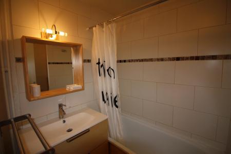 Rent in ski resort Studio sleeping corner 4 people (121CL) - Résidence Home Club 1 - Tignes - Bath-tub
