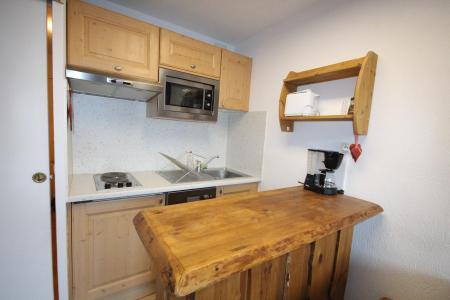 Location au ski Studio coin montagne 4 personnes (06R) - Résidence Home Club - Tignes - Kitchenette