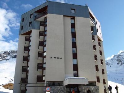 Location au ski Residence Le Borsat - Tignes - Extérieur hiver
