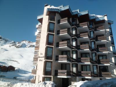 Location au ski Residence Le Grand Pre - Tignes - Extérieur hiver